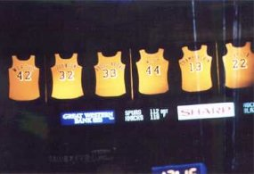 LakersWeb.net: Los Angeles Lakers Retired Jersey's Numbers